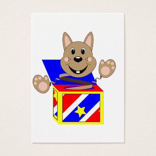 Skrunchkin Rabbit Fudge In Colorful Box Business Card