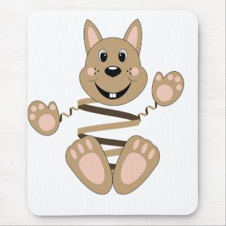 Skrunchkin Rabbit Fudge Mouse Pad