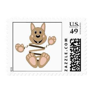 Skrunchkin Rabbit Fudge Stamp