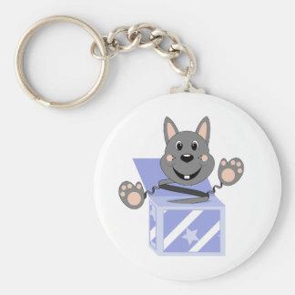 Skrunchkin Rabbit Kasper In Blue Box Keychains