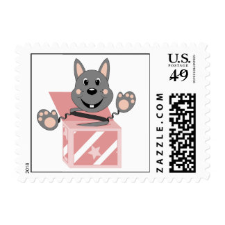 Skrunchkin Rabbit Kasper In Pink Box Stamps