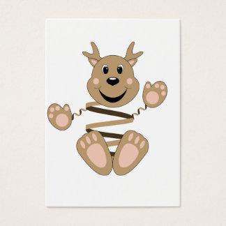 Skrunchkin Reindeer Business Card