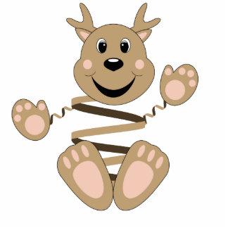 Reindeer head cut out new calendar template site