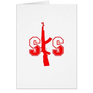 SKS Assault Rifle Logo Red.png Card