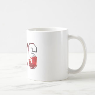 SKS Assault Rifle Logo Red White And Blue.png Classic White Coffee Mug