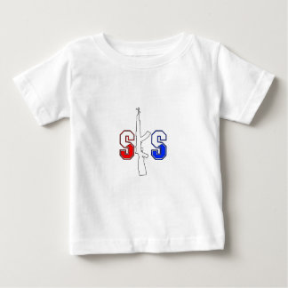 SKS Assault Rifle Logo RWB Stroked.png T-shirt