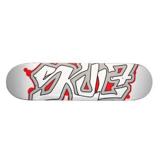 SkuL7 Ivory (Ruby) Skateboard Deck