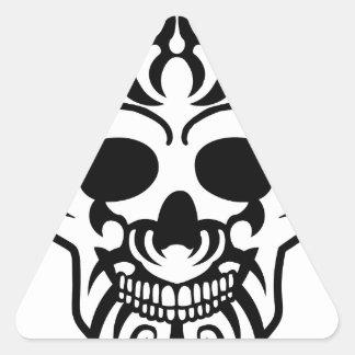 skul 2 l.png del tatuaje calcomanías trianguloes