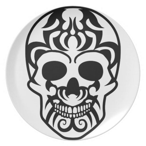 skul 2 l.png del tatuaje platos de comidas