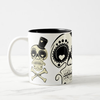 SKUL-LOVE-001, SKUL-LOVE-001, SKUL-LOVE-001 Two-Tone COFFEE MUG