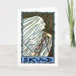 Skuld Greeting Card