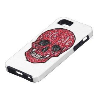 skull02 phone cases iPhone 5 case