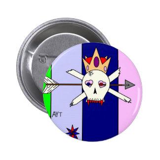 SKULL1 PIN REDONDO 5 CM