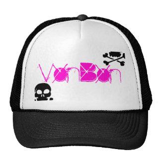 skull1, skull1, VonBon Trucker Hat