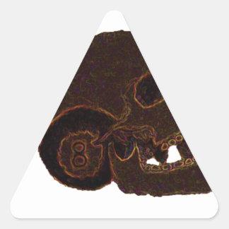 skull2 triangle sticker