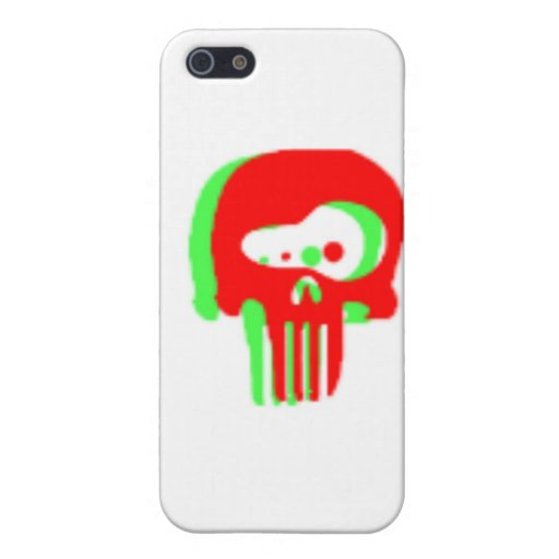 skull3 iPhone 5 protector