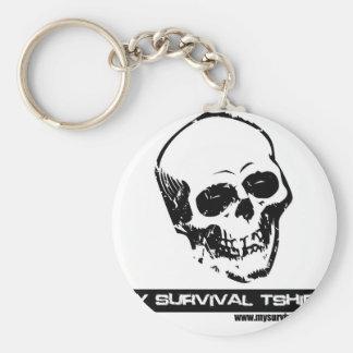 Skull 05 keychain