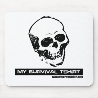 Skull 05 mouse pad