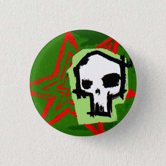 Skull 11 button