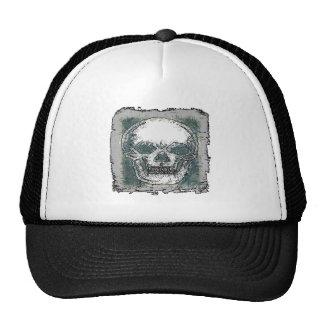 SKULL 1 TRUCKER HAT