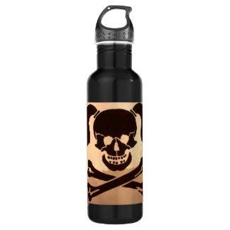 skull 24oz water bottle