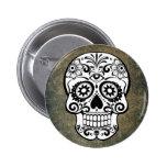 Skull 2 Inch Round Button