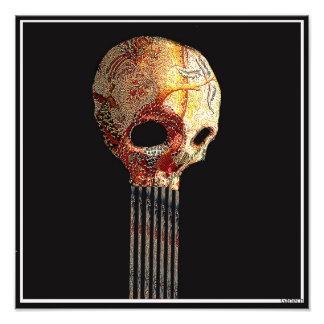 skull 2 impresión fotográfica