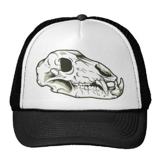 Skull 2 ~ Skulls Skeleton Mammal Animal Trucker Hat