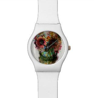Skull 2 wrist watch
