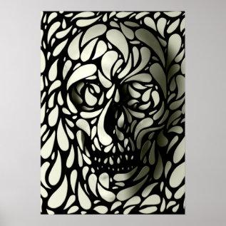 Skull 4 Poster at Zazzle