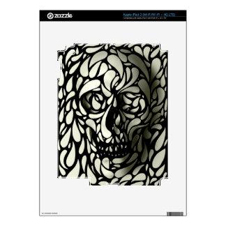 Skull 4 iPad 3 decals