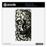 Skull 4 skin for the iPhone 4