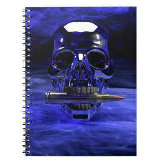 skull-682973 SKULL NUCLEAR WEAPONS WAR DARK CAUSES Spiral Note Book