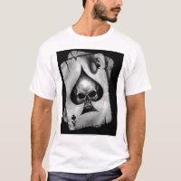 Skull Ace Of Spades T-Shirt
