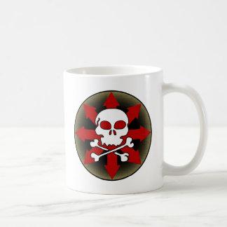 Skull and Arrows Classic White Coffee Mug