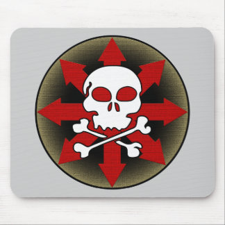 Skull and Arrows Mouse Pad