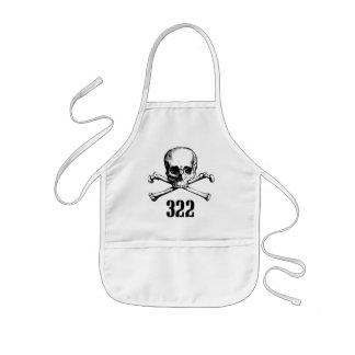 Skull and Bones 322 Apron