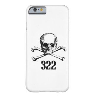 Skull and Bones 322 Barely There iPhone 6 Case