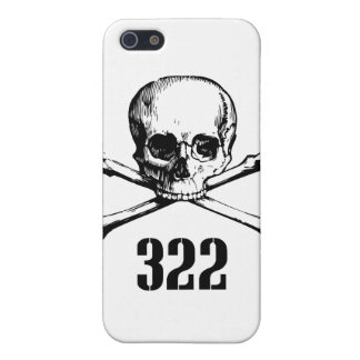 Skull and Bones 322 Case For iPhone 5
