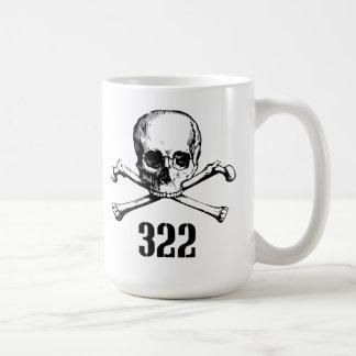 Skull and Bones 322 Classic White Coffee Mug