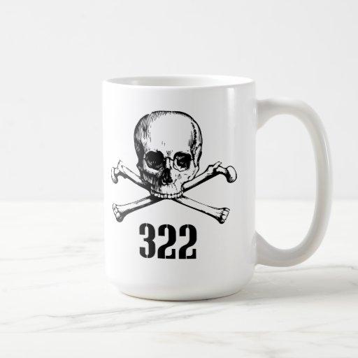 Skull and Bones 322 Coffee Mug