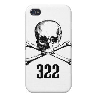 Skull and Bones 322 iPhone 4/4S Cover