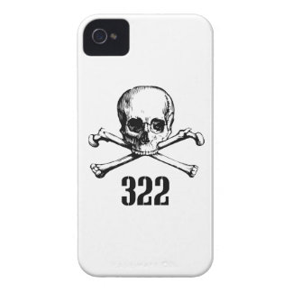 Skull and Bones 322 iPhone 4 Cover