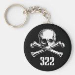 Skull and Bones 322 Keychains