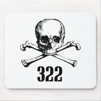 Skull and Bones 322 Mouse Pad