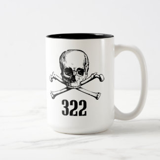 Skull and Bones 322 Mug