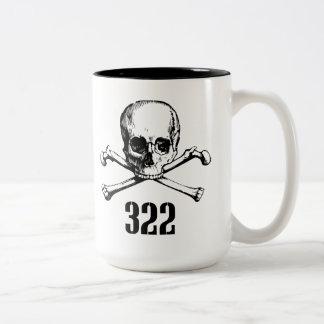 Skull and Bones 322 Two-Tone Coffee Mug
