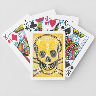 Skull and bones #96754 bicycle playing cards