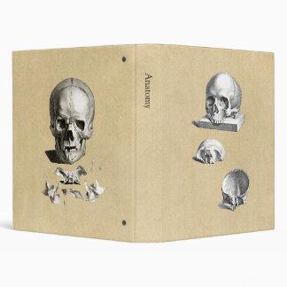 Skull and Bones Anatomy Drawing Binder