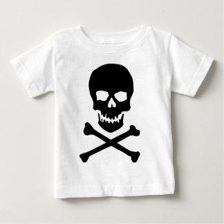 skull and bones baby T-Shirt